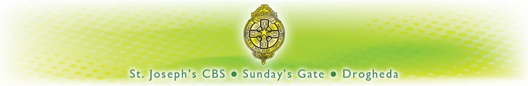 St Joseph's CBS, Sunday's Gate Logo