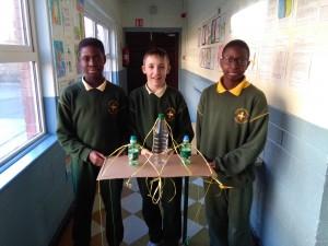 Emmanuel, Michael and Faysal