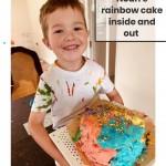 Rainbow Cake (outside) - Noah R2