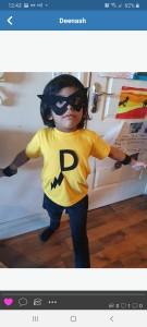 'Super D' Deenash's Super Hero - Senior Infants