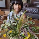 Deenash's wild flower arrangement